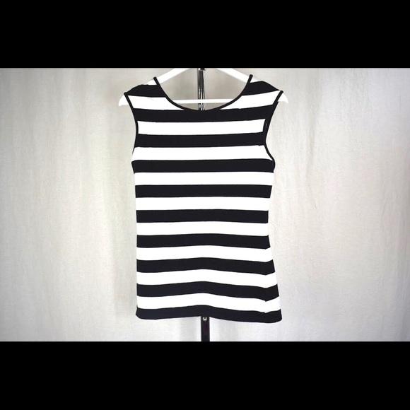 ❤️ 3/$30- Express B&W stripe top